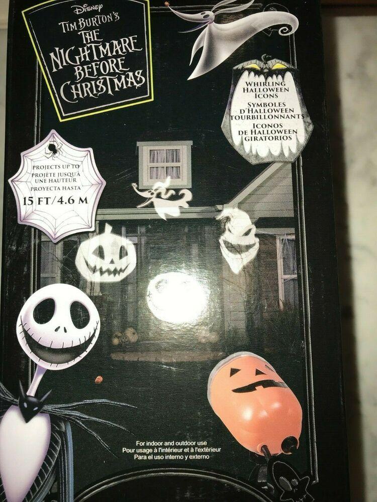 Gemmy Lightshow Nightmare Before Christmas LED Whirla
