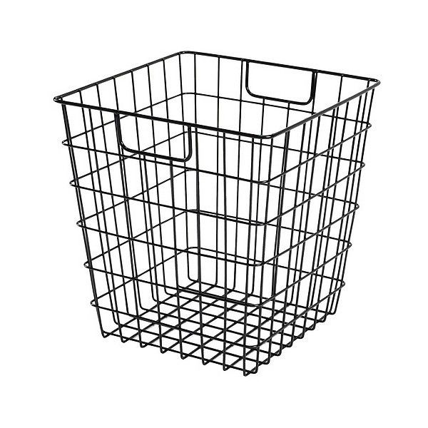Decorative Wire Basket - Black - Room Essentials, Ebony ($8.99 ...