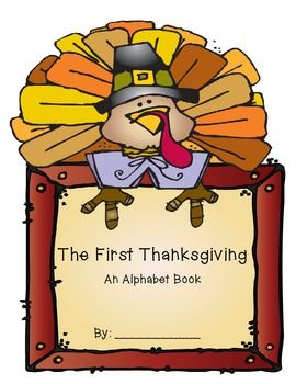 Thanksgiving Book ABC Printing Journal- Common Core Aligned #howtodisguiseyourself