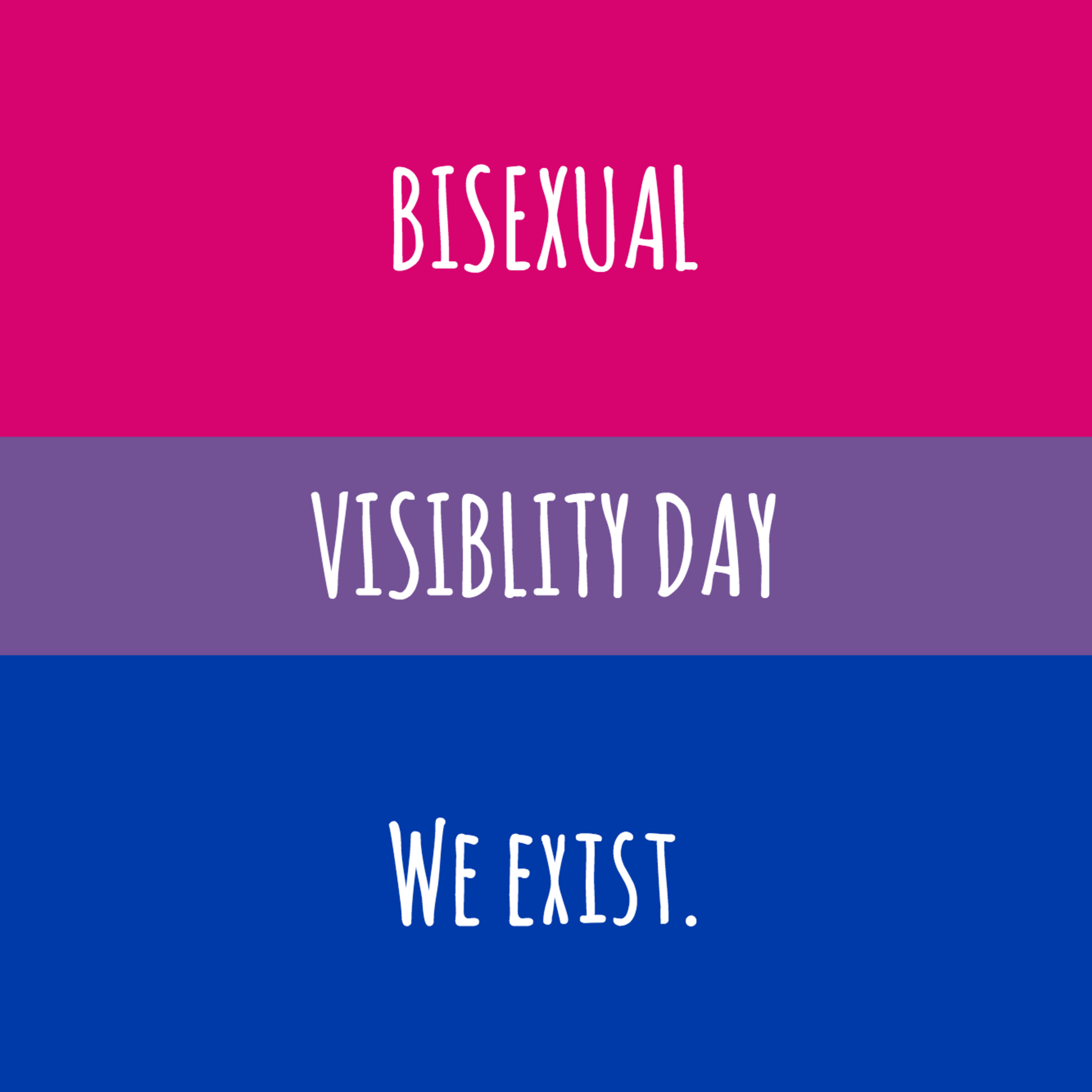 Disaggregating The Data For Bisexual People