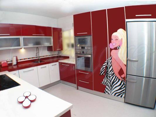 Diseños De Muebles De Cocina para armar | cocinas | Kitchen ...
