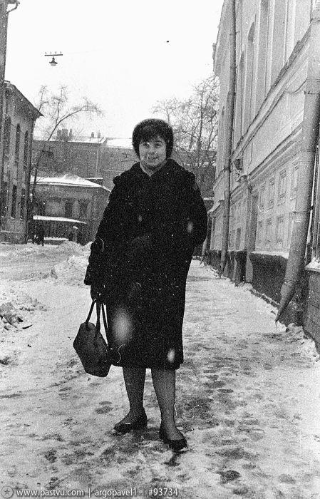 Большая Ордынка, 3-ий Кадашевский переулок, 1956 год ...