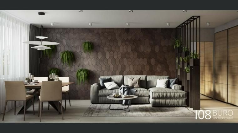 Modernes Apartment in Moskau, von Buro 108 Haus