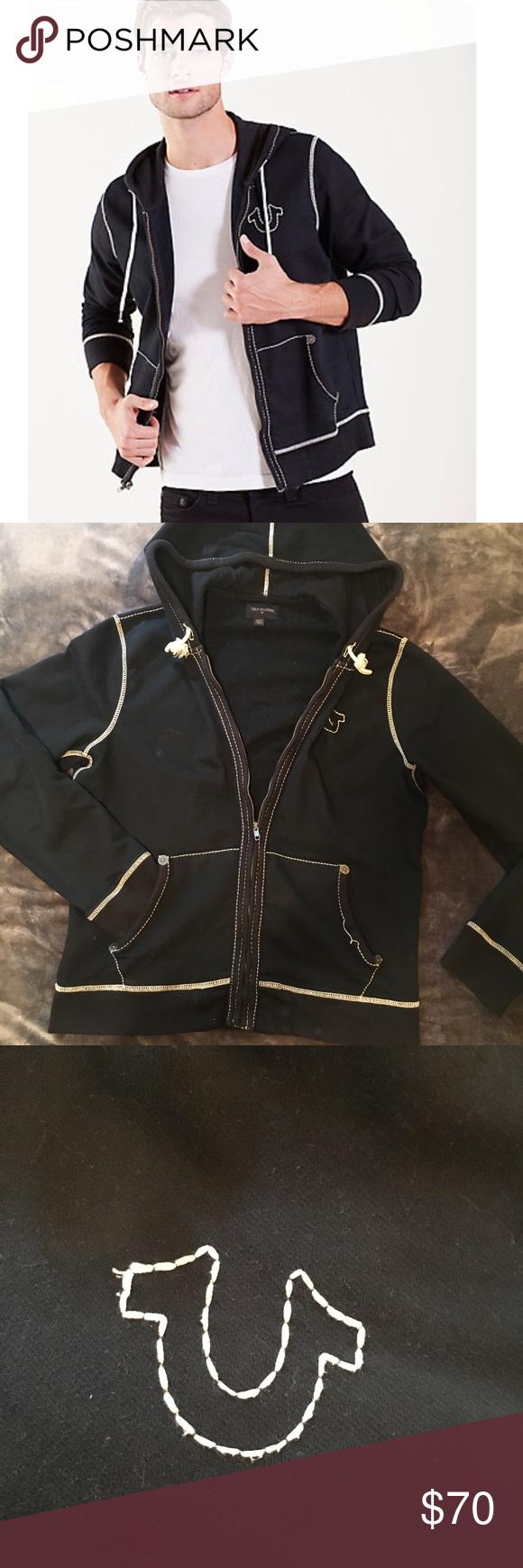c5347f3134a83 Men's True Religion Stitch Jacket Like New Men's True Religion jacket.  Looks like new! Make offers! True Religion Jackets & Coats