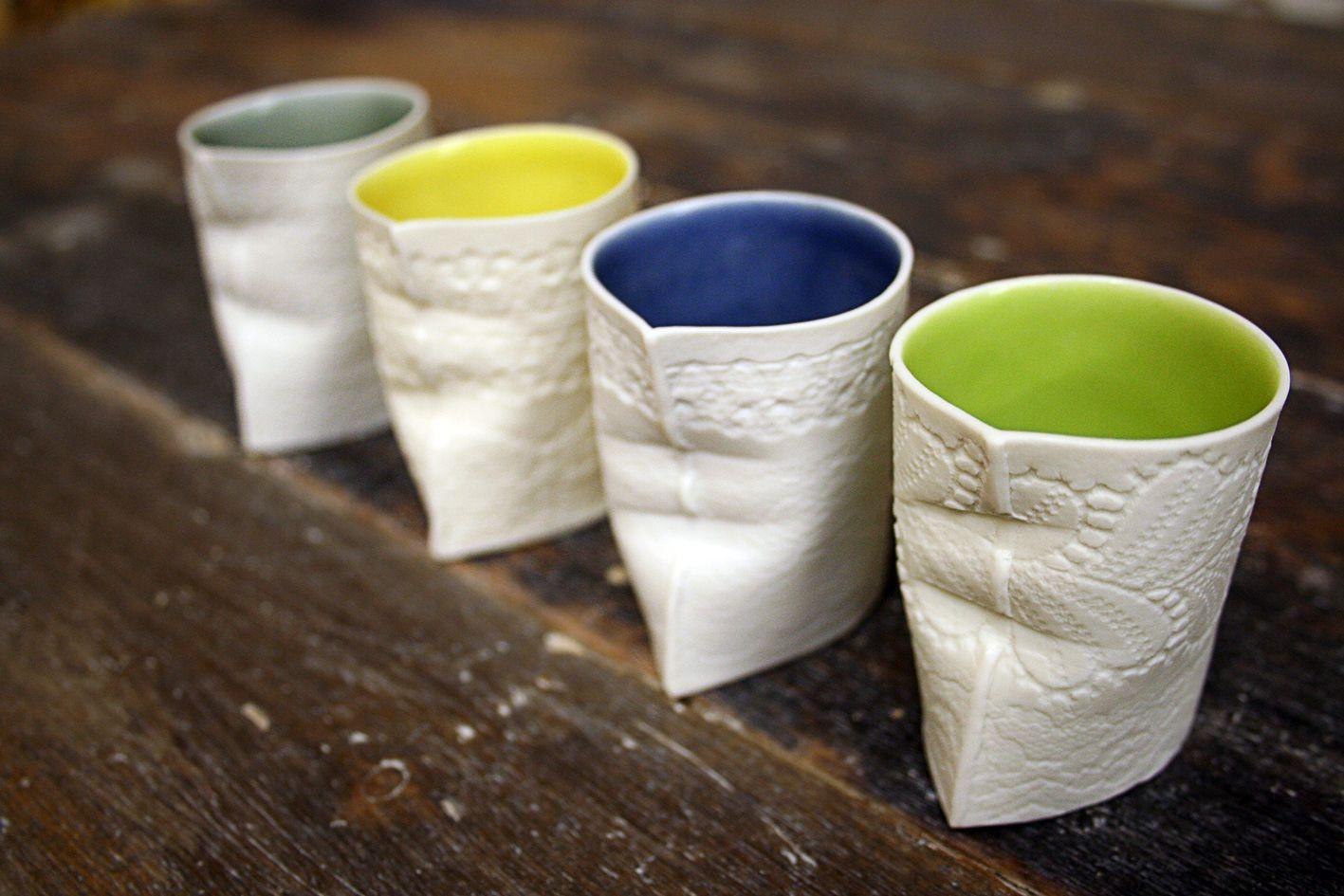 Louise Hall Ceramics Ceramics Exhibition Glassware