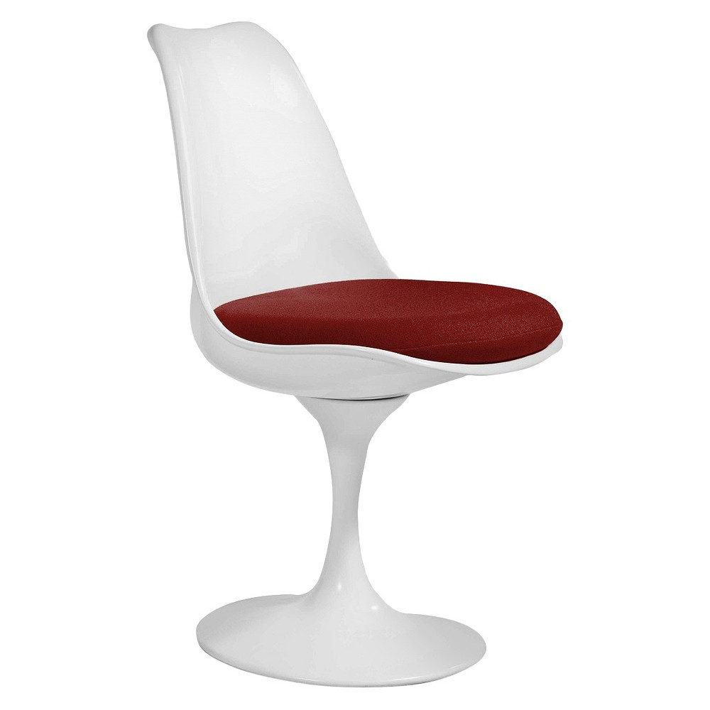 Inga Side Dining Chair - White Gloss - Aeon