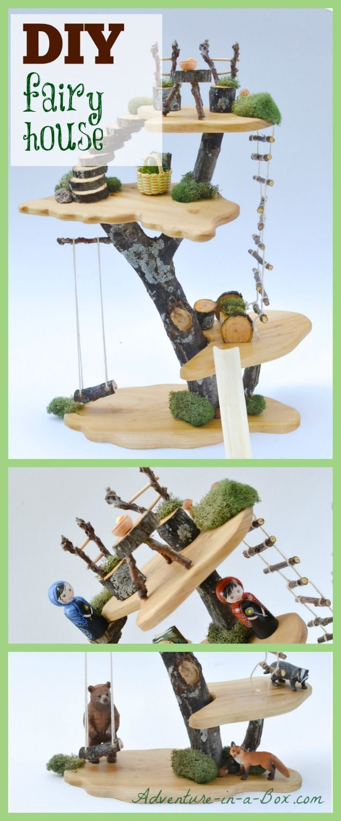 Diy project how to make a toy tree house pinterest for Raumgestaltung tool