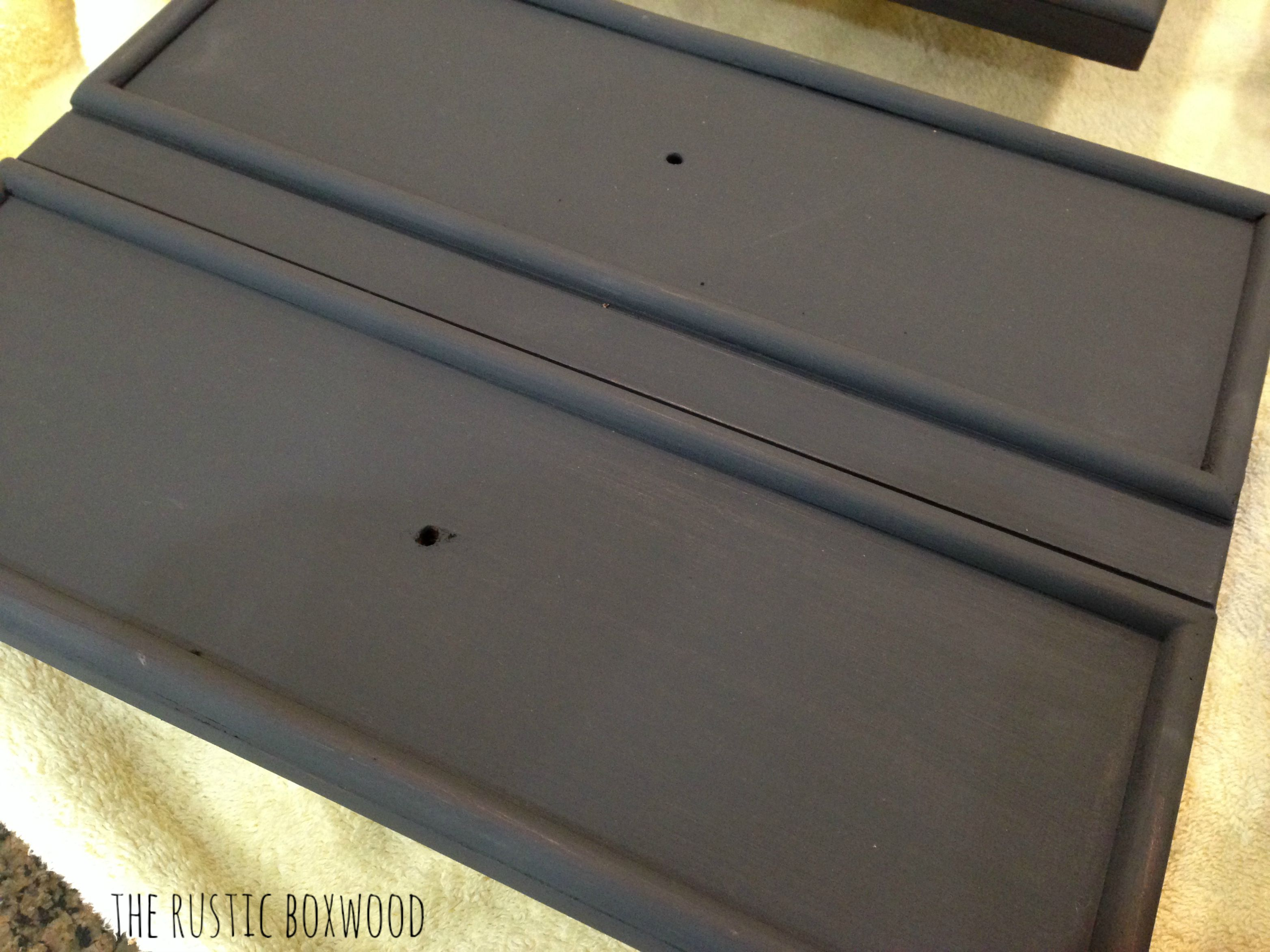 Diy Chalk Painted Bathroom Vanity Makeover Bathroom