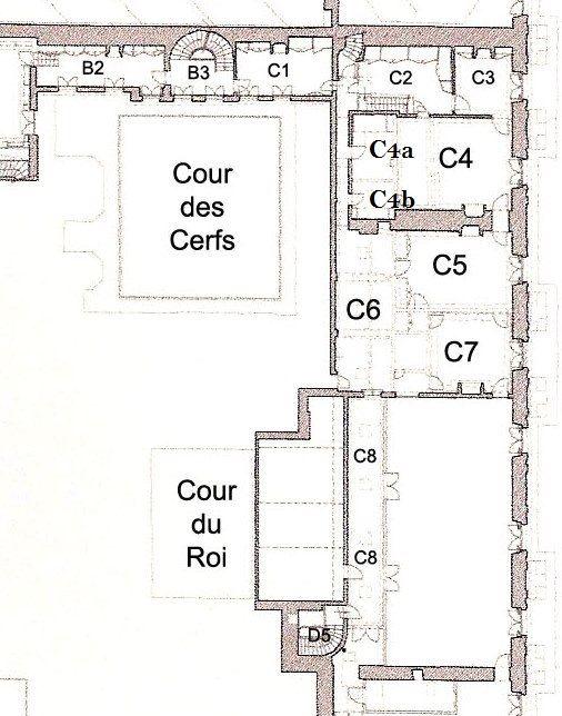 attic aile du midi ⚜ Versailles Palace Pinterest Attic