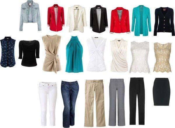 adbd46fecbd Basic Work Wardrobe for Women