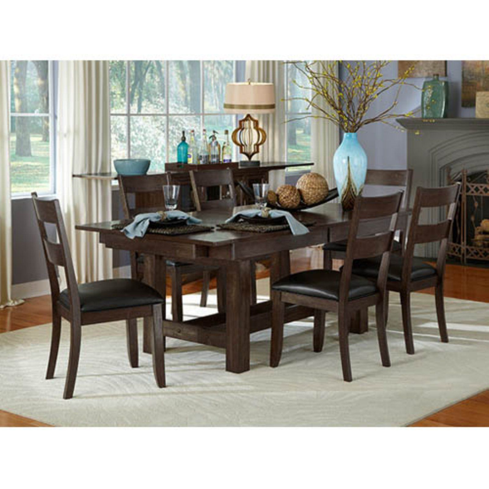 A-America Mariposa 132-in. Trestle Table In 2019
