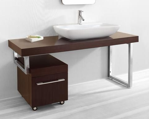 Asymmetrical Bathroom Vanities For A Stylish Modern Bathroom Contemporary Bathroom Vanity Bathroom Vanity Makeover Single Sink Bathroom Vanity