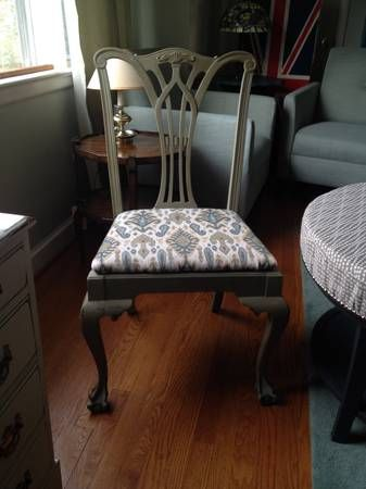 Fiddle Back Dining, Vanity, or Accent Chair - $75 (Silver ...