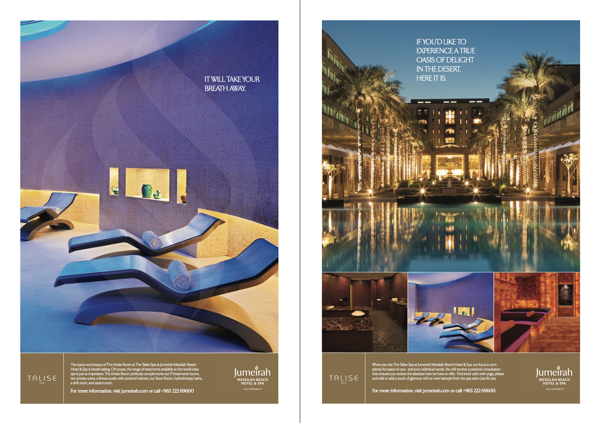 hotel advertisement samples