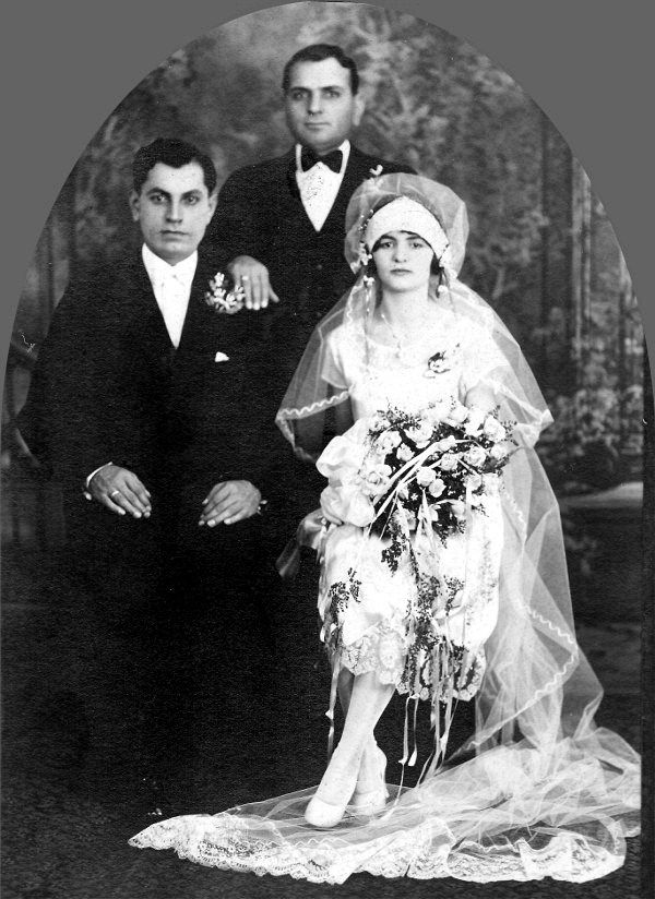 Tom and Suzie Demetrion on their Wedding Day 29 October 1929 in ...
