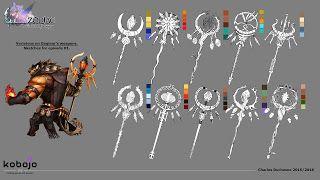 Zodiac: Orcanon Odyssey Dagmar, weapon-design.