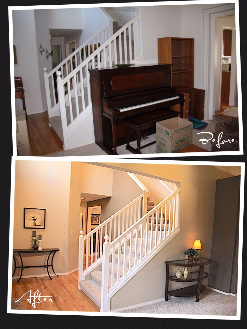 Although pianos are an excellent decorative element, it often happens that houses do not have the space suitable for them. The result is a room crammed with furniture and with little flow. If the seller doesn't use the piano on a daily basis and can live without it for a few weeks, then it is recommended to remove it to make the house more spacious and attractive.