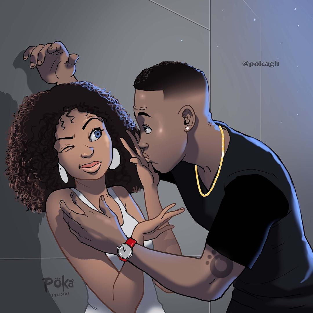 Ghanaians Have A Lot Of Feelings About This Simple Illustration By Poka Arts