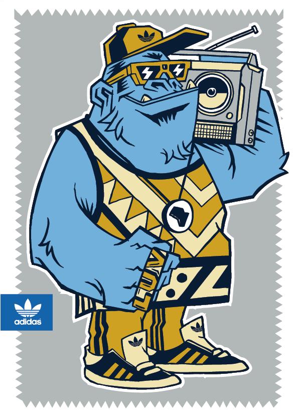 Test Drawings for Adidas Originals on Behance | N KID