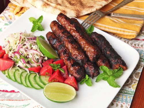 Seekh Kebabs (Pakistani Spicy Grilled Ground Meat Skewers)  Mein Blog: Alles rund um die Themen Genuss & Geschmack  Kochen Backen Braten Vorspeisen Hauptgerichte und Desserts