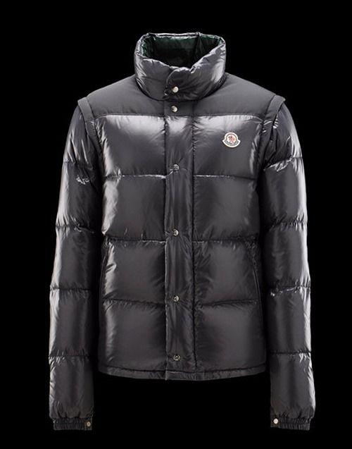 Moncler Andersen Men Black | Jackets | Jackets, Moncler