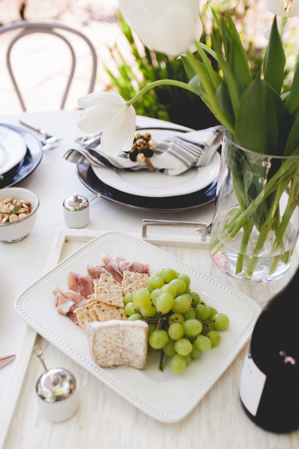 HOW TO STYLE :: A WINE COUNTRY TABLE SETTING - coco+kelley coco+kelley
