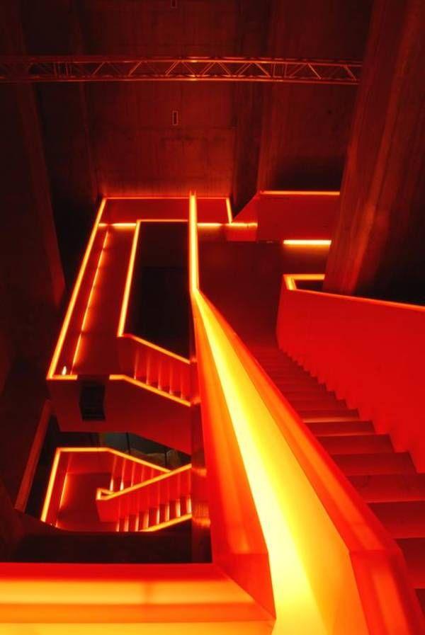 Treppen Essen ruhr museum essen kohlenwäsche treppe hg merz zeche zollverein