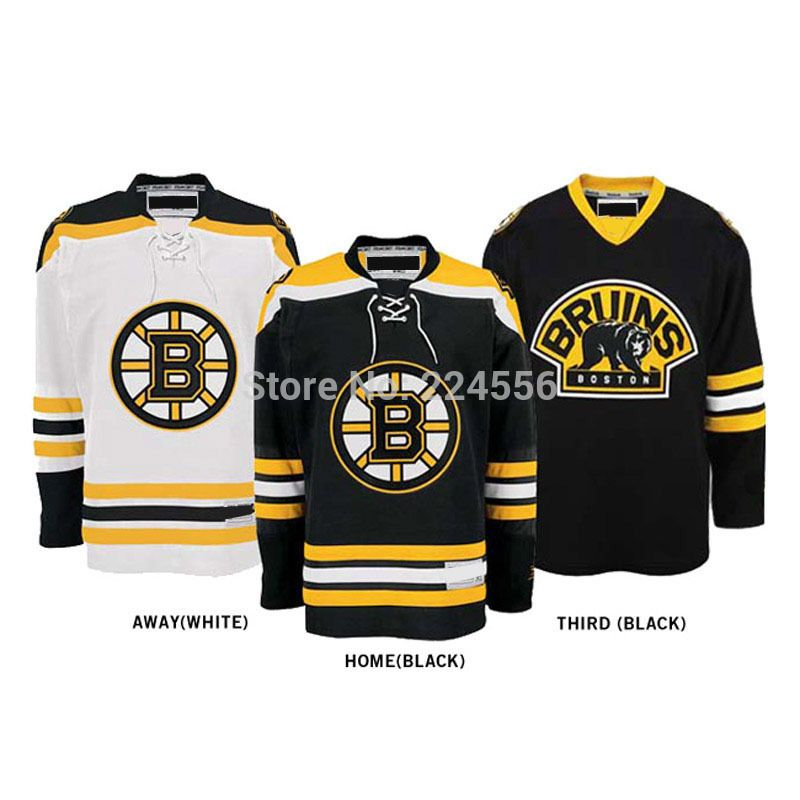 Find More Sports Jerseys Information about Custom boston bruins Jerseys  Home Away Third Customized China Cheap ICE Hockey Jersey embroidery Number    Nane ... c8e5e9a6c