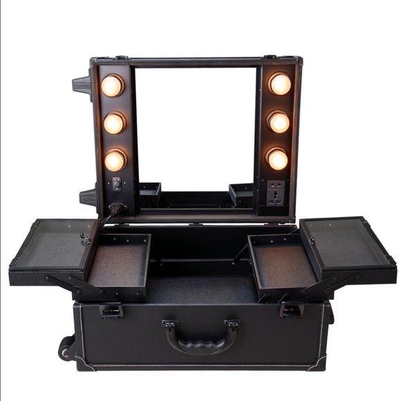 Professional Makeup Vanity Suitcase Top Makeup Products Makeup Suitcase Makeup Accessories