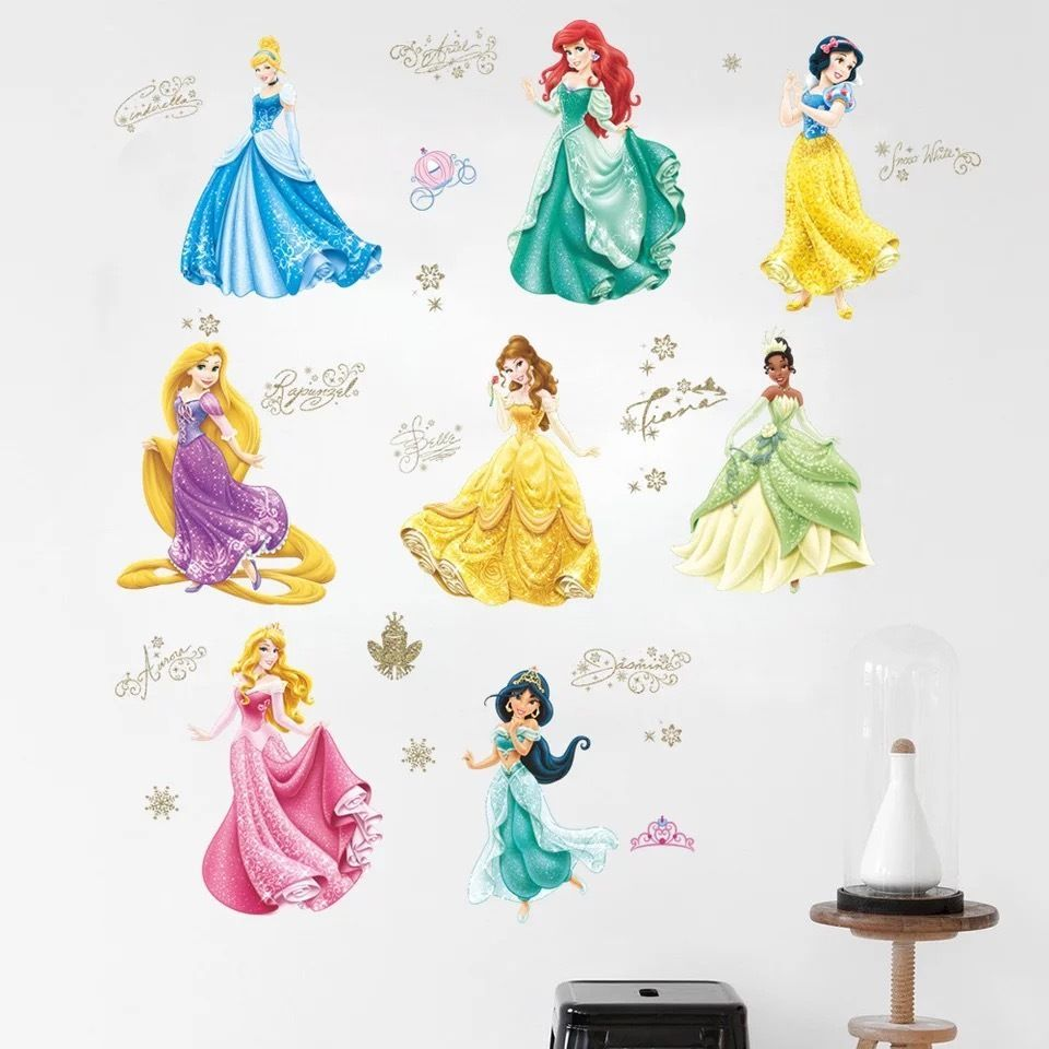 Disney Princess. Bedroom WindowsWall Stickers ...