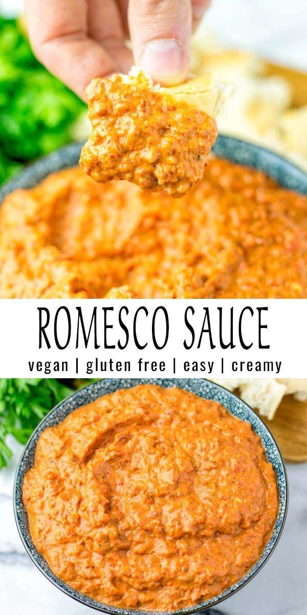 Photo of Romesco Sauce [easy vegan version] – Contentedness Cooking