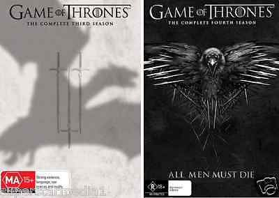 Game of #thrones #season 3 & 4 : new dvd,  View more on the LINK: 	http://www.zeppy.io/product/gb/2/172016449409/