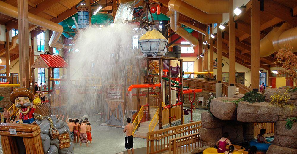 Chula Vista Resort Wisconsin Dells Wisconsin Indoor: Klondike Kavern Indoor Waterpark At Wilderness Resort In