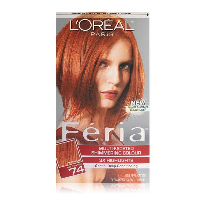 L\'Oreal Paris Feria Haircolor | Hair coloring, Permanent hair ...