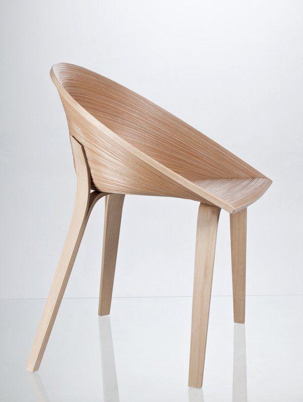 Design Dobjet Chaise Bois