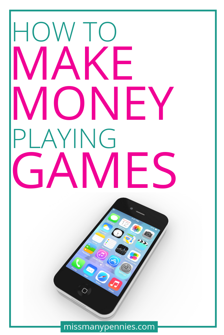 Make Money Playing Games on your Mobile Get Paid to Play