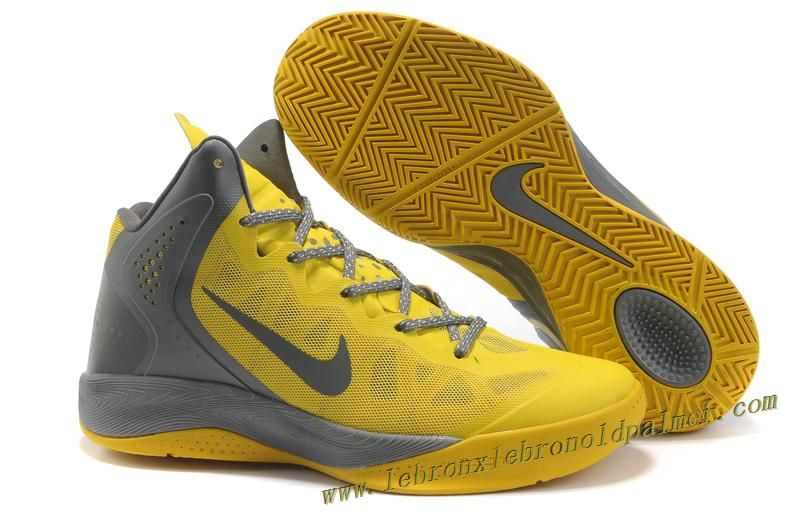 5525d2312e34 Nike Zoom Hyperenforcer Shoes In Ash Yellow