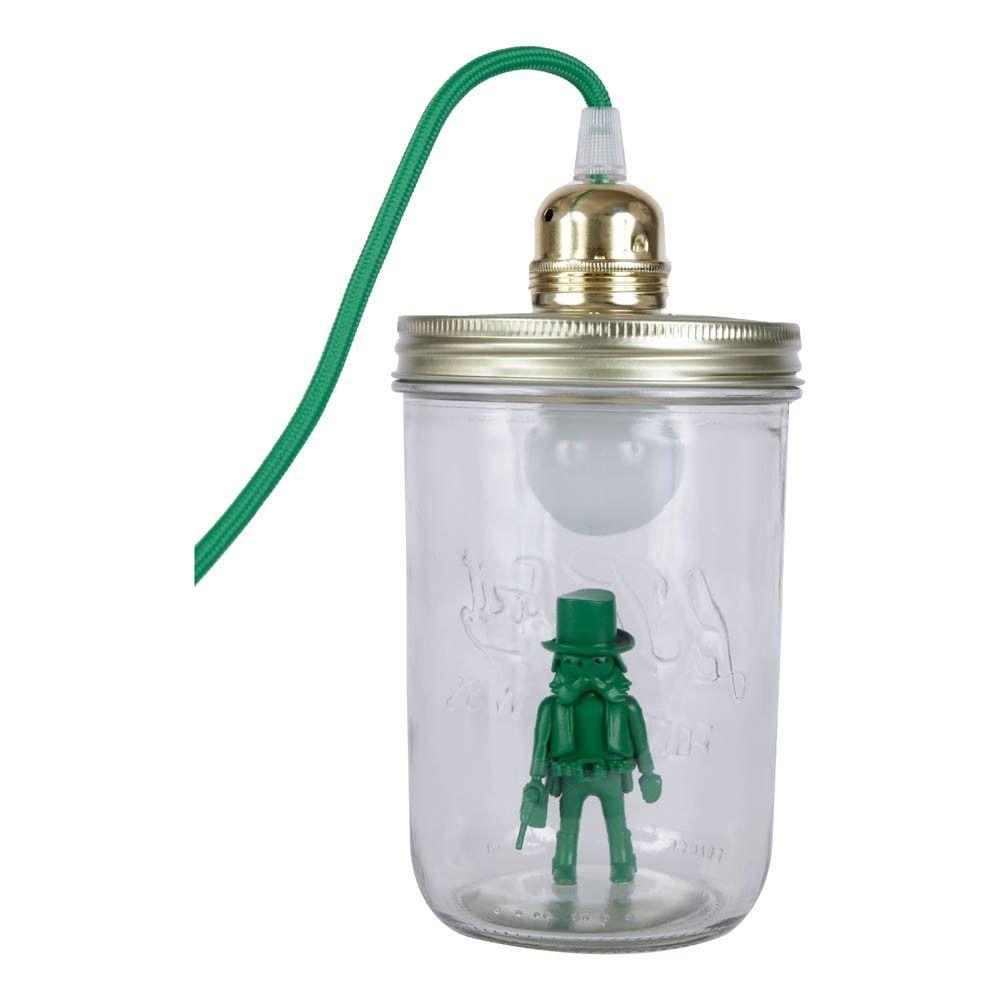 Lampe bocal à poser Playmobil Vert