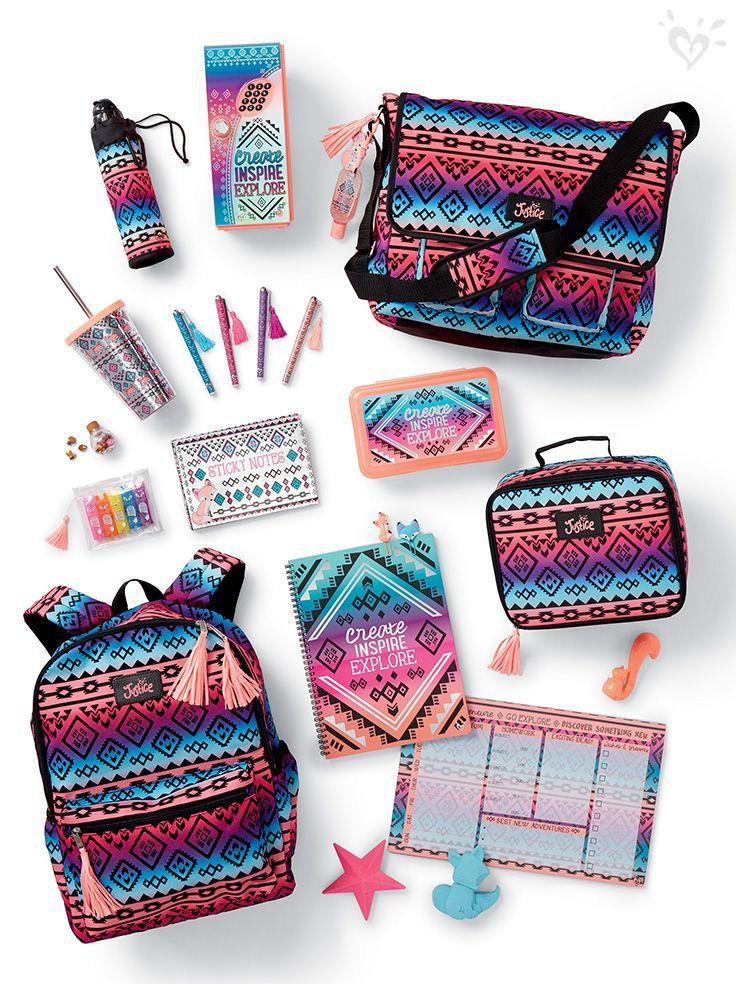 school supplies in 2019 | Justice school supplies, Cute ...