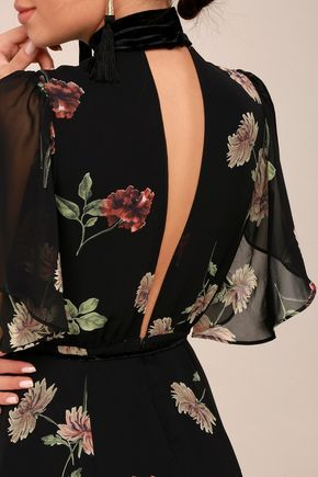 13 dress Coctel floral prints ideas