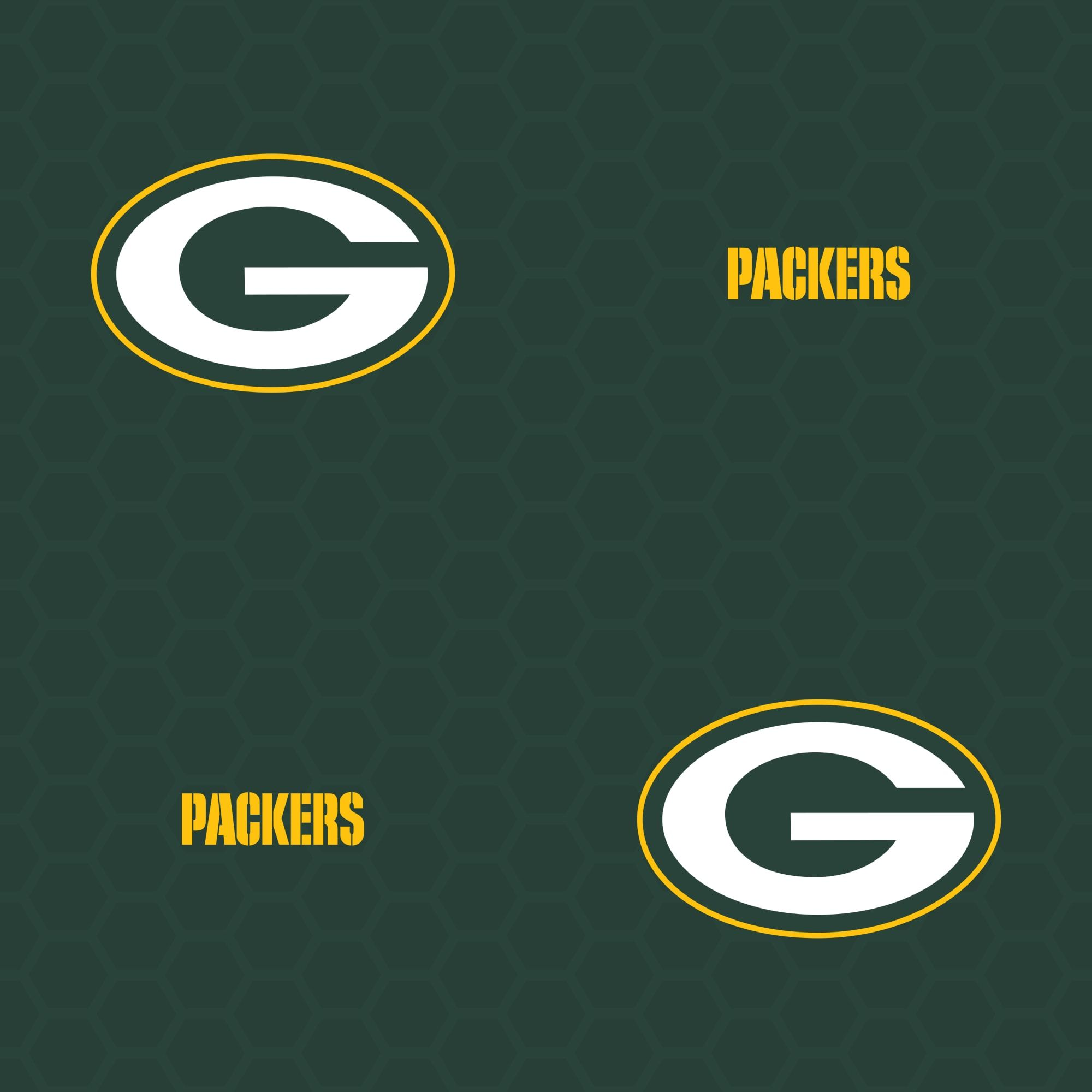Green Bay Packers Logo Pattern (Green) Officially