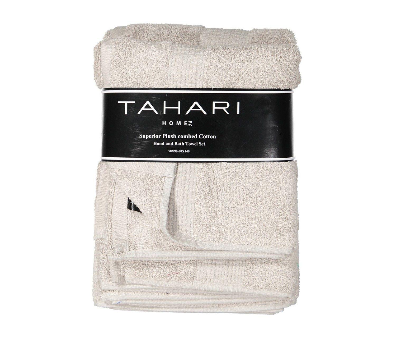 Www Cuisinella Satisfaction Com shop tahari tahari hand and bath towel set, pearl for home