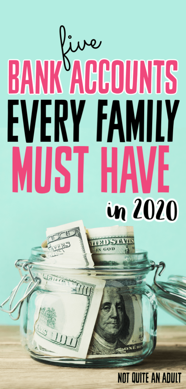 If you're trying to organize your finances you should look into having multiple bank accounts #bankaccount #money #finance Having more than one bank account can help you save your money and possibly even get early retirement #moneymatters