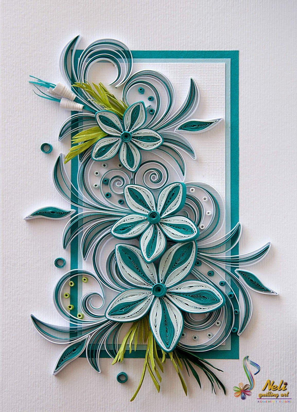классическом цветы из бумаги квиллинг для открытки своими руками находится