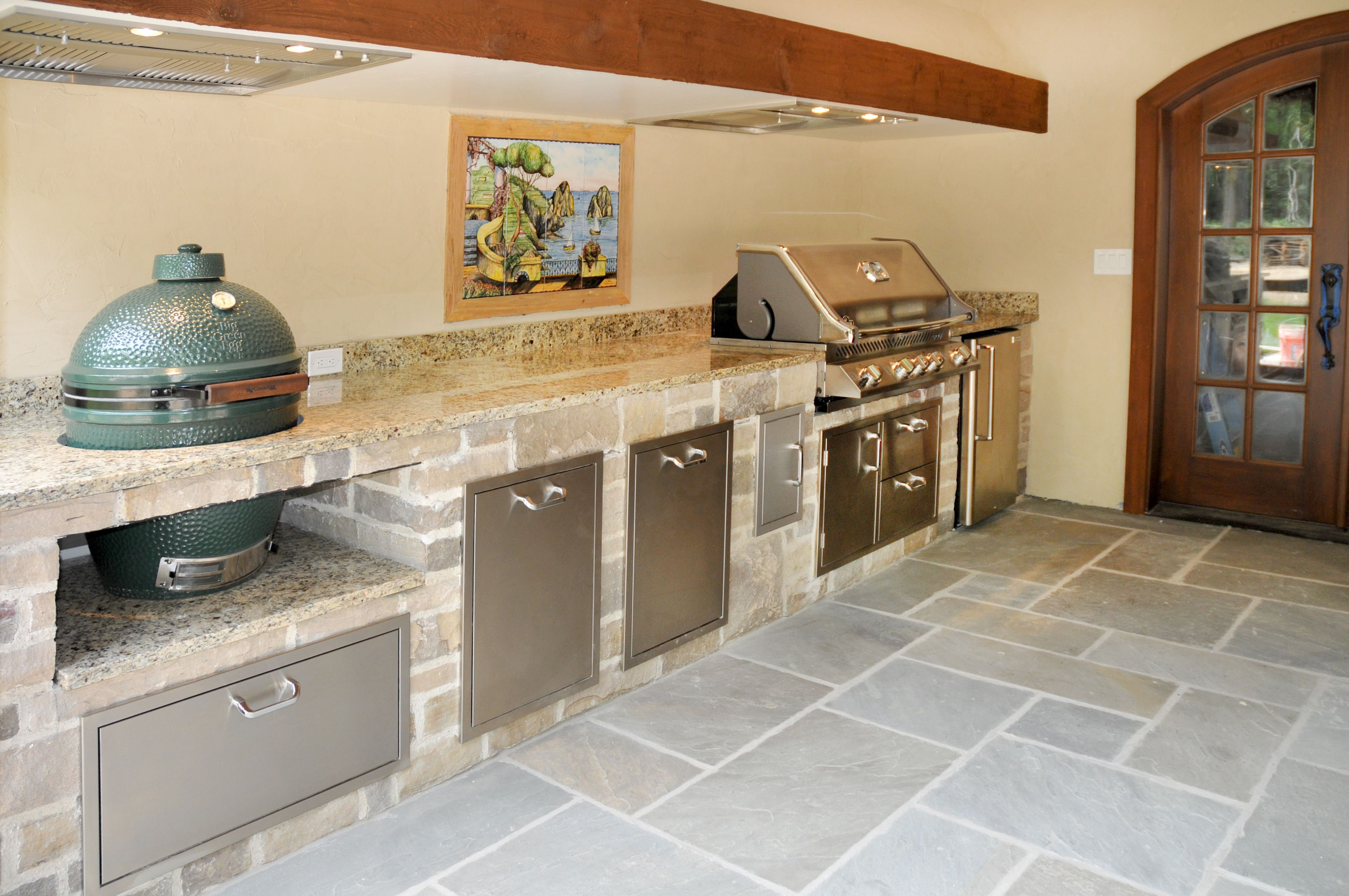 Outdoor Kitchen Big Green Egg ~ tboots.us