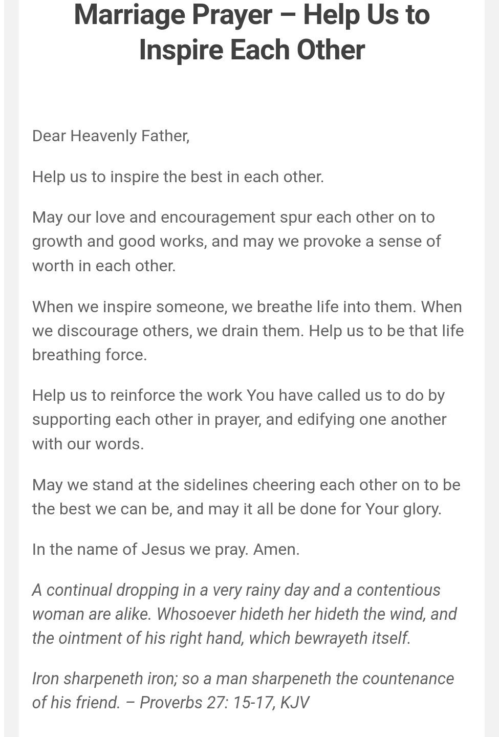 Pin by Christina Harland-Johnson on marriage | Prayer for my