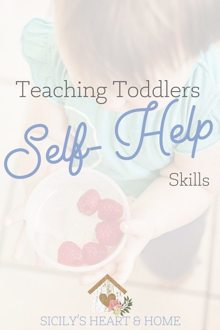 Teaching Toddlers Self Help Skills | Toddler learning and Learning