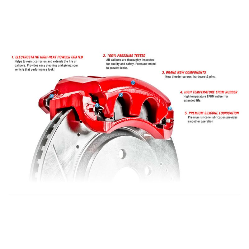 Power Stop® Performance Floating Brake Calipers Brake