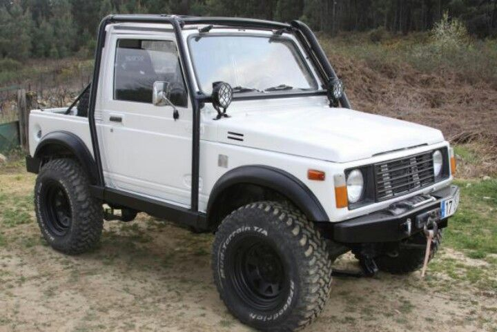 Like To Have One Just Like This Suzuki Samurai Suzuki Work Truck