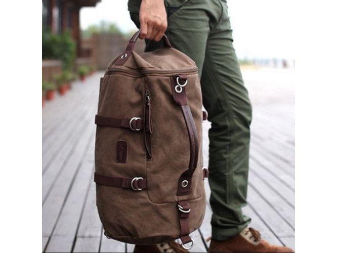 6296222515 Vintage  Overnight Bag Hiking Rucksack  Duffle Backpack  sportsbag